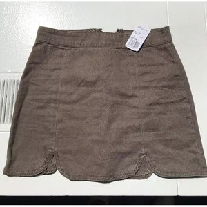 Forever21 olive green skirt size small